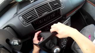 Citroen C8 - fixing the air-condition panel backlight