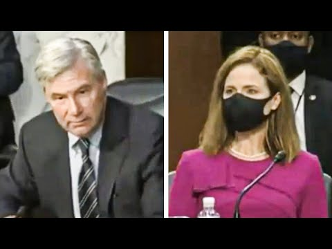 Sheldon Whitehouse SHAMES Amy Coney Barrett and Republicans
