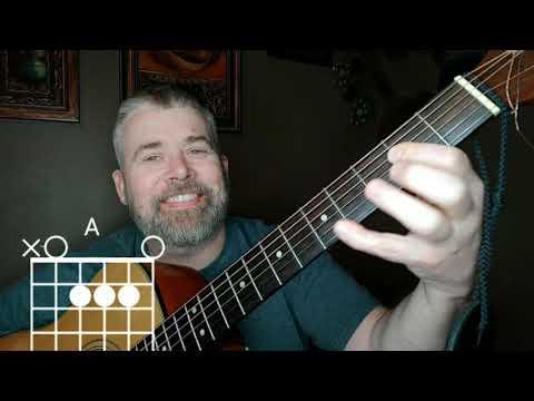 Hotel California Guitar Lesson - Key Change to Em - easy version for BUSKING