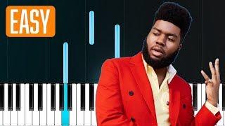 Khalid   Motion (100% EASY PIANO TUTORIAL)