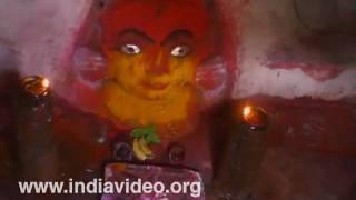 Chandikesvara temple at Hampi in Bellari district