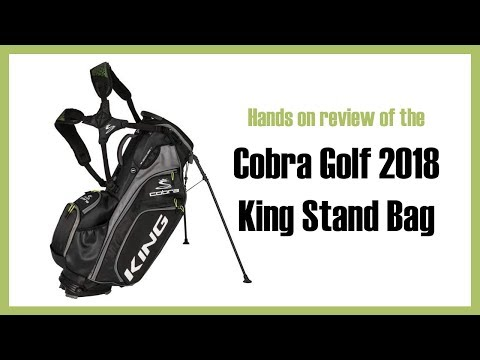 Review of Cobra Golf 2018 King Stand Bag