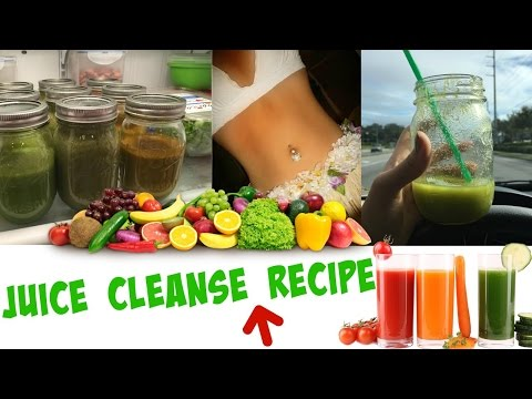 Video Juice Cleanse Recipe for Weight Loss!
