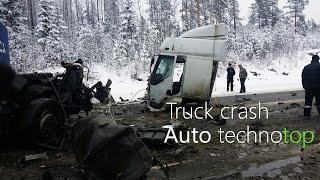 Аварии фур и грузовиков. Фуры без тормозов. ДТП с участием большгрузов