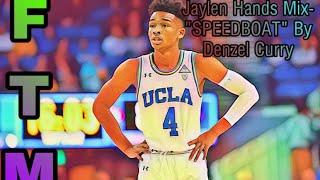 """Jaylen Hands Mix  """"SPEEDBOAT"""" By Denzel Curry"""