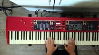 Antonio Carlos Jobim - Agua de Beber (Water To Drink) Nord Piano Jazz