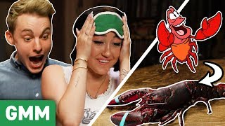 Disney Movie Food Challenge w/ Jon Cozart & Noah Cyrus - Video Youtube