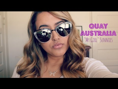 "Quay Australia ""My Girl"" Sunglasses Mini Review 
