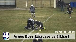 Argos Boys Lacrosse vs Elkhart