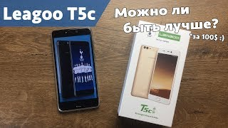 Смартфон LEAGOO T5c 3/32GB Gold от компании Cthp - видео