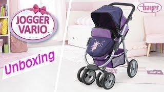 Jogger Vario - Dolls Pram - Puppenwagen - Unboxing - Bayer Design