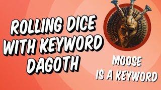 Rolling Dice With Keyword Dagoth   Elder Scrolls Legends