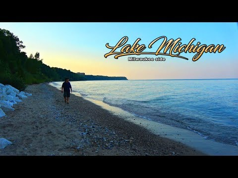 SUAB HMONG TRAVEL:  A glance at Lake Michigan Beach on Milwaukee side