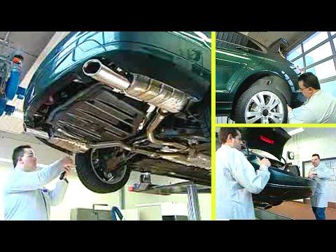 Mercedes Benz C-Klasse   Stoßfänger hinten aus-, einbauen (W204)