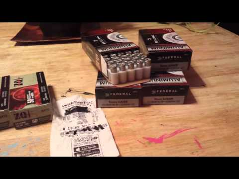 Video Cheap 9mm ammo at Walmart!  Go get you some!!