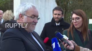 France: Body of Russian WWI soldier laid to rest at Russian military cemetery