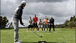 Long Drive Trick Shots | Dude Perfect