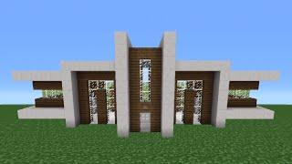 Minecraft HAUS Bauen Einfamilienhaus Minecraft TUTORIAL - Minecraft haus bauen mit redstone