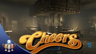 Fallout 4 Cheers TV Show Bar  Easter Egg