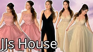 Affordable Wedding Dresses, Military Ball Gowns, & Prom Dresses | JJsHouse Review & Try On!