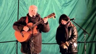 Павел Матвейко и Елена Калугина. Выступление на слете куста Калужский. Осень 2013