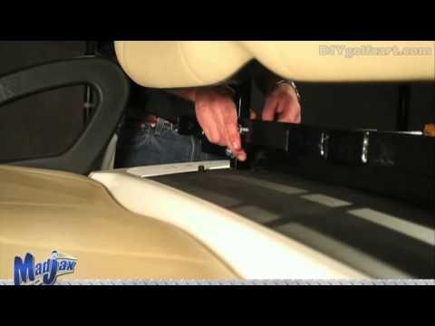 Golf Cart Seat Belt Bar | How to Install Video | Installing Golf Cart Seat Belt Attachment