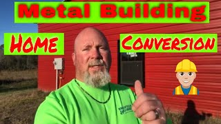 Prefab Metal Building Construction For An Affordable Home