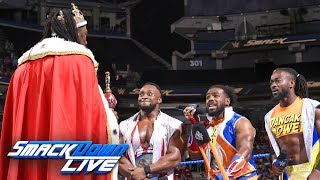 King Booker welcomes The New Day into the Five-Timers Club: SmackDown LIVE, Aug. 28, 2018