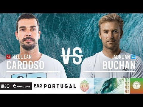 Willian Cardoso vs. Adrian Buchan - Round Three, Heat 11 - MEO Rip Curl Pro Portugal 2018