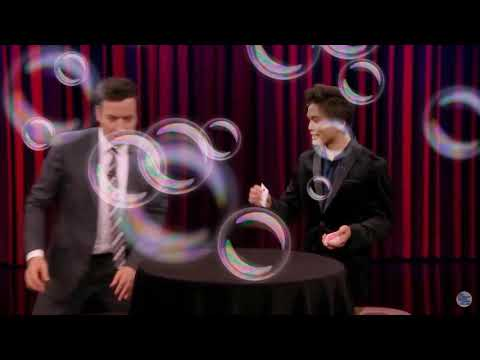 Intoxicated America's Got Talent Winner Shin Lim Stuns Jimmy with a Magic Trick