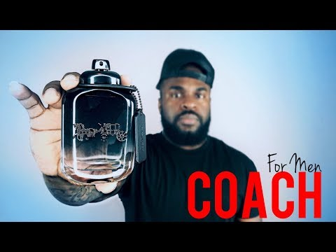 Coach For Men Fragrance Review | New Release 2017 | Men's Cologne Review