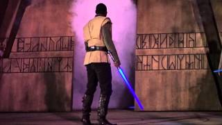 New Jedi Training: Trials of the Temple in Disney World 3 Cameras GoPro