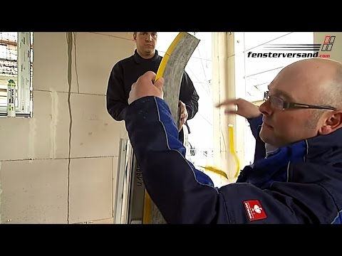 Fenster abdichten mit Illbruck Twin Aktiv Fensterfolie - fensterversand.com TV