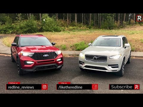 The 2020 Ford Explorer ST & Volvo XC90 T8 Are Both 400 HP Family Haulers – Ft. AlexOnAutos