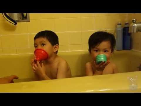 Children Bath Time