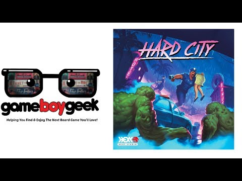 The Game Boy Geek Previews Hard City