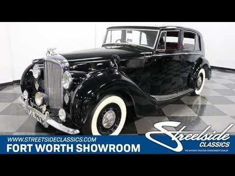 Video of 1949 Bentley Mark VI - $29,995.00 Offered by Streetside Classics - Dallas / Fort Worth - QPTN