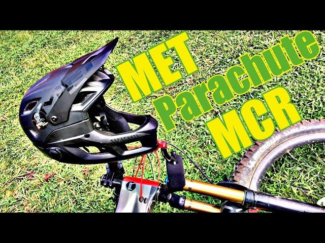 Видео Шлем MET Parachute MCR MIPS Black (Matt/Glossy)