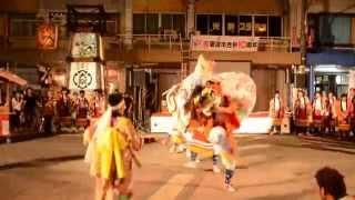 2014となみ伝承やぐら大祭 獅子舞