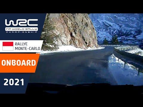 WRC 2021 トヨタのオジェのオンボード映像 開幕戦のラリーモンテカルロ SS10を走るオジェのオンボード映像