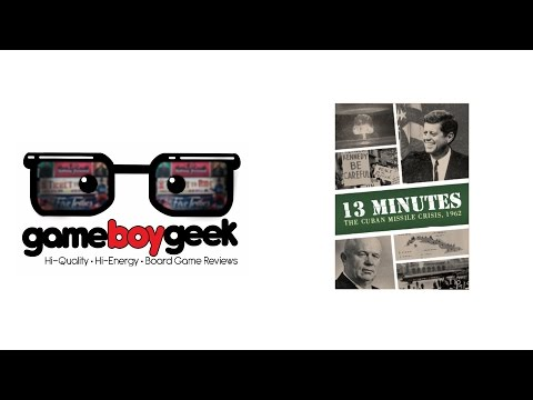 The Game Boy Geek Reviews 13 Minutes