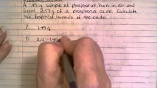 Empirical Formula - Complex Example 1