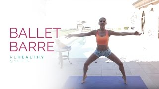 Barre Workout with Weights | Rebecca Louise by Rebecca-Louise