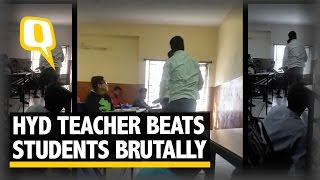 The Quint: Caught on Cam: Teacher Leaves Students Bleeding in Brutal Beating
