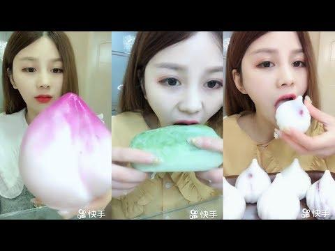 Sütlü Buz Yemek Videoları - #146 ASMR (Frozen Milk Eating)