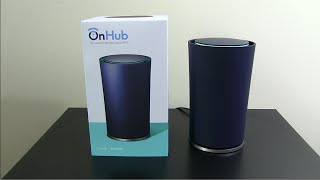 Google OnHub Router Unboxing and Setup