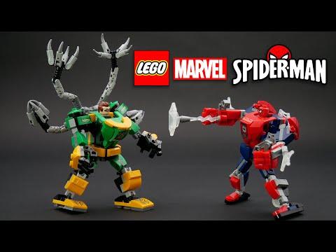 Vidéo LEGO Marvel 76198 : La bataille des robots de Spider-Man et Docteur Octopus