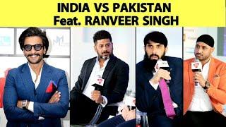 Misbah & Harbhajan On Why India Start Favourites Vs Pakistan  | Vikrant Gupta