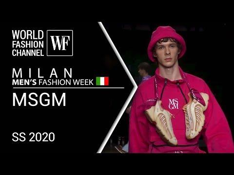 MSGM | Milan MEN'S fashion week SS 2020