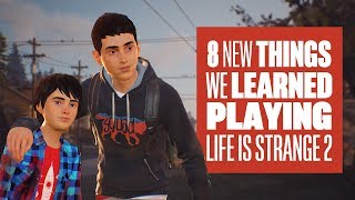 8 New Things We Learned playing Life is Strange 2 - New Life is Strange 2 Gameplay